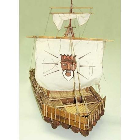 Kon-Tiki, ship model kit Mantua 703