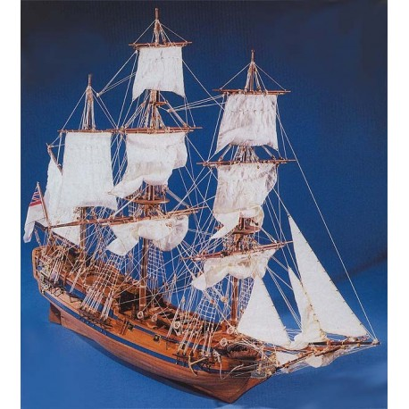 Paregrine Galley - Model Ship Kit Paregrine Galley 786 by Mantua Ship Models