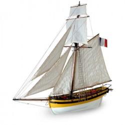 Le Renard - Model Ship Kit Le Renard 22401 by Artesania Latina Ship Models