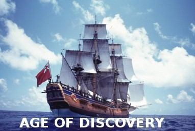 Model ship kits from age of discovery