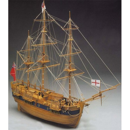 Endeavour ship model kit Mantua 774