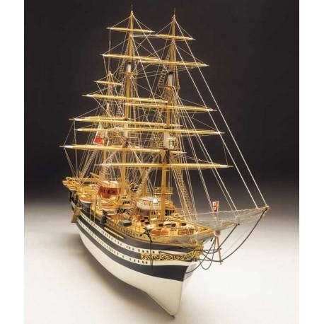 Amerigo Vespucci, ship model kit Mantua 799