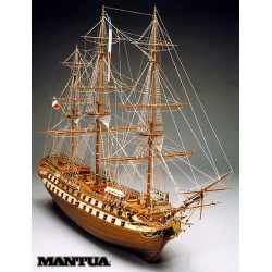 Le Superbe, ship model kit Mantua 798