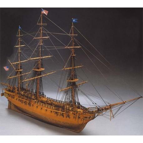 Constitution, ship model kit Mantua 779
