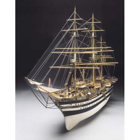 Amerigo Vespucci, ship model kit Panart 741