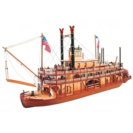 Mississippi - Model Ship Kit Mississippi 22505 by Artesania Latina Ship Models