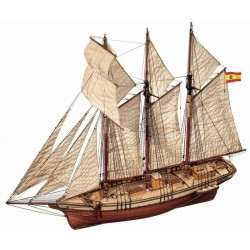 Cala Esmeralda - Model Ship Kit Cala Esmeralda 13002 by Occre Ship Models