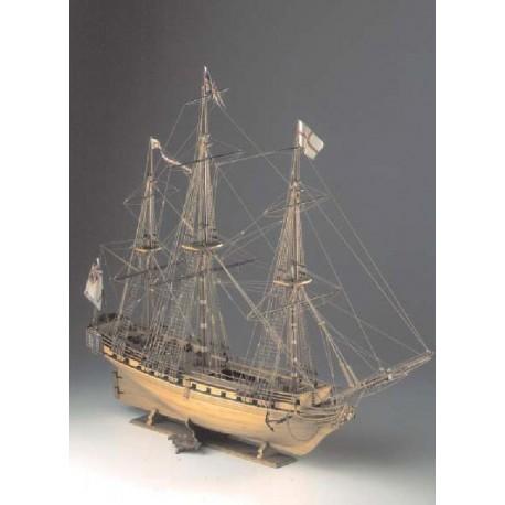 Unicorn - Model Ship Kit Unicorn 11 by Corel Ship Models