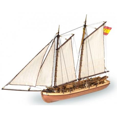Endeavour´s longboat - Model Ship Kit Endeavour´s longboat 19015 by Artesania Latina Ship Models