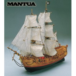 Black Falcon, ship model kit Mantua 768
