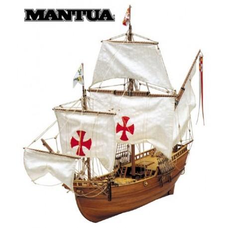 Pinta, ship model kit Mantua 755